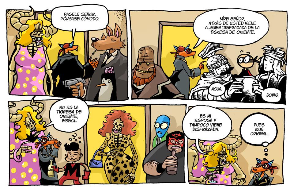 029. Fiesta de disfraces 2ª parte.
