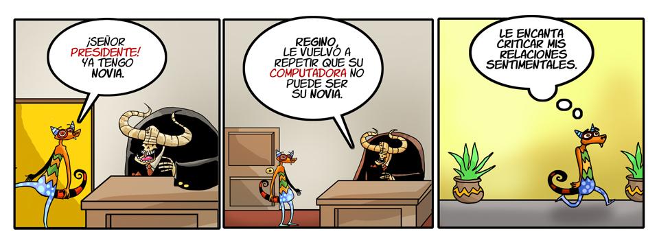 39. La nueva novia de Regino.