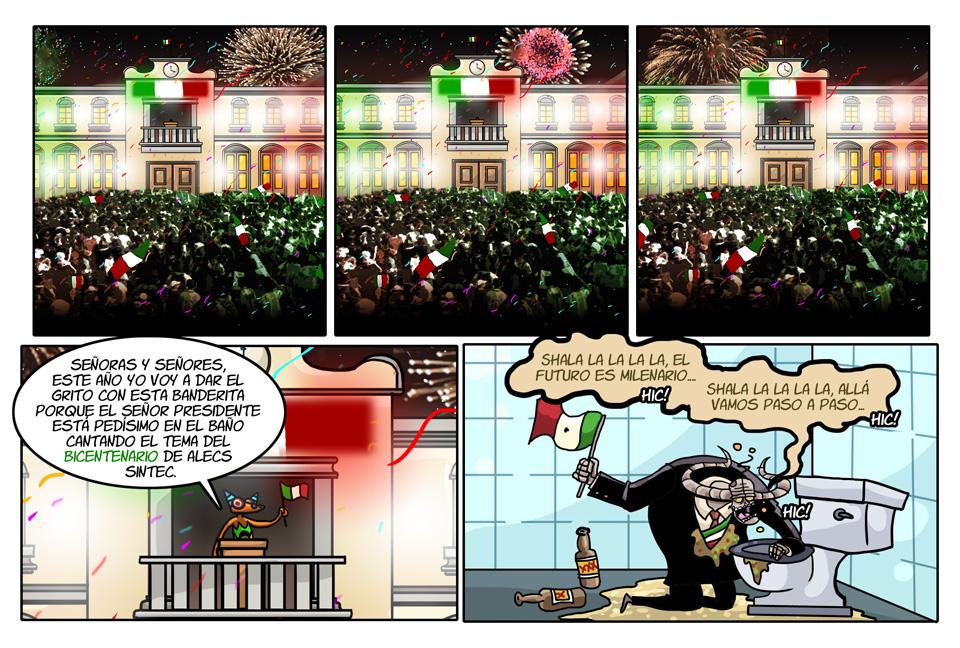 82. El grito del Bicentenario.