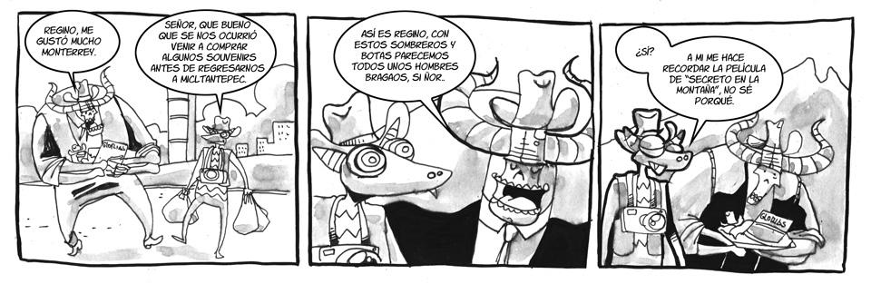 151. Regresando de Monterrey.